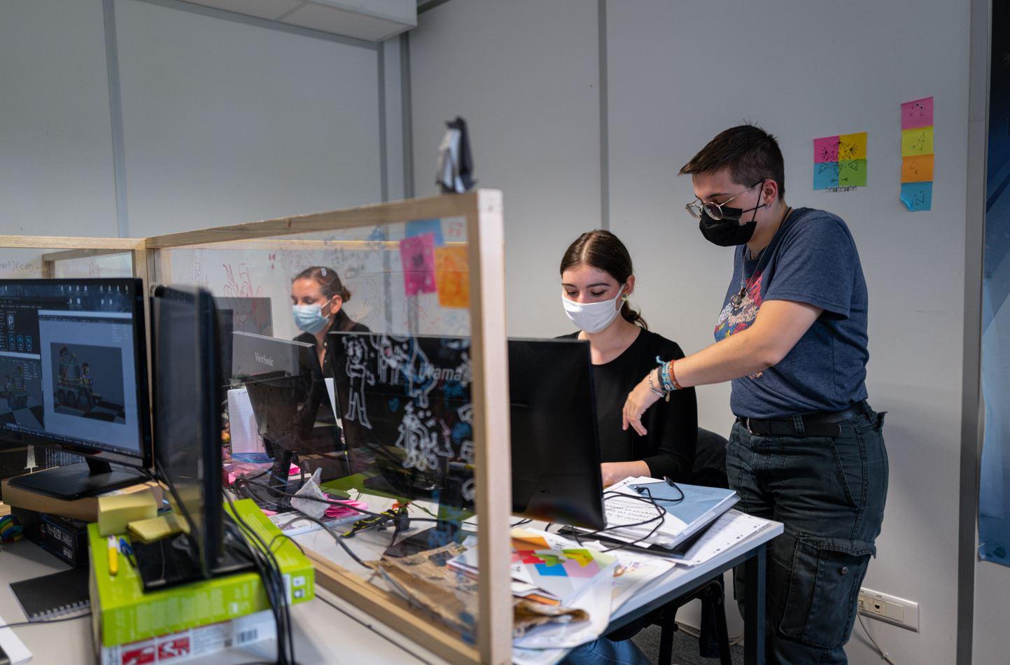 Waide Somme - Animation 3D - Salle de classe